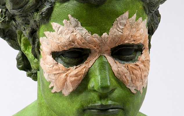 Kimberly Callas, green man
