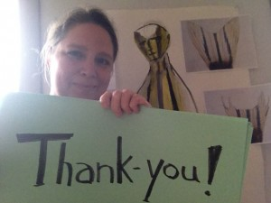 Thank you from Kimberly Callas